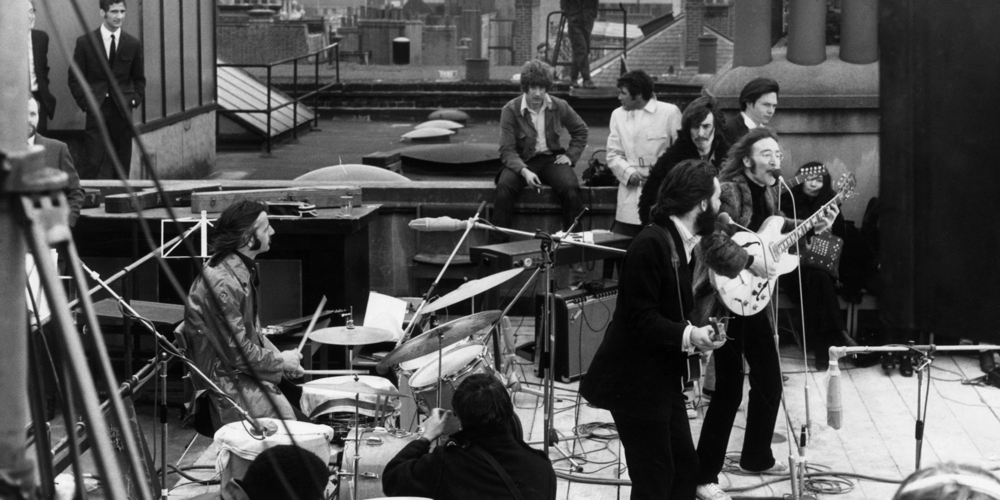 The Beatles Rooftop