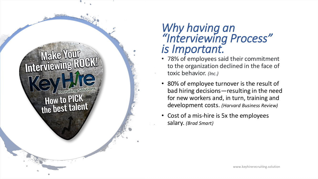 PRESENTATION MAKE YOUR INTERVIEWING ROCK WHY HAVING N INTERVIEWING PROCESS